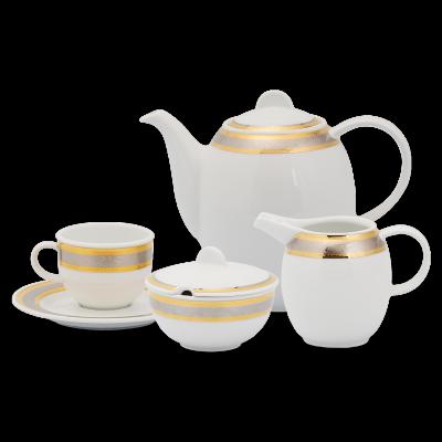 Bộ cà phê 1.3 L - Sago - Hoa Hồng