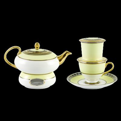 Bộ pha trà nghệ thuật mới 0.47 L - Anna - Hoàng Kim