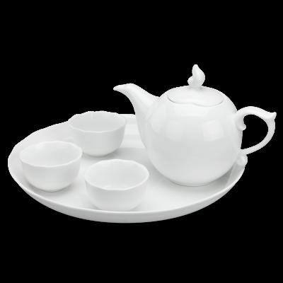 Bộ trà 0.3 L - Mẫu Đơn IFP - Trắng Ngà