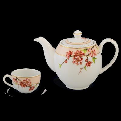 Bộ trà 0.8 L - Camellia - Hoa Đào