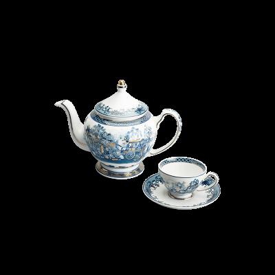 Bộ trà 0.8 L - Hoàng Cung - Hồn Quê Vàng