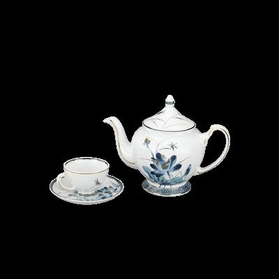 Bộ trà 0.8 L - Hoàng Cung - Sen Vàng