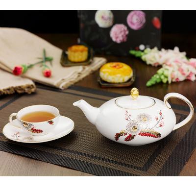 Pha trà như nghệ nhân qua bộ pha phin bằng sứ Minh Long