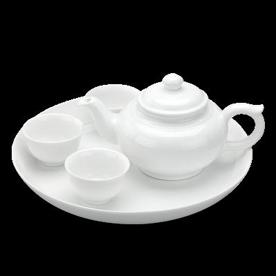 Bộ trà 0.35 L - Jasmine - Trắng
