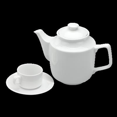Bộ trà 1.1 L - Jasmine - Trắng