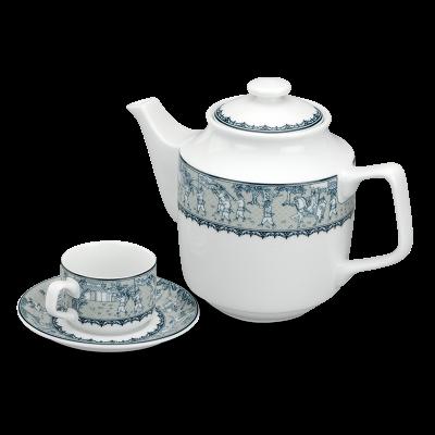Bộ trà 1.1 L - Jasmine - Vinh Quy Nhạt