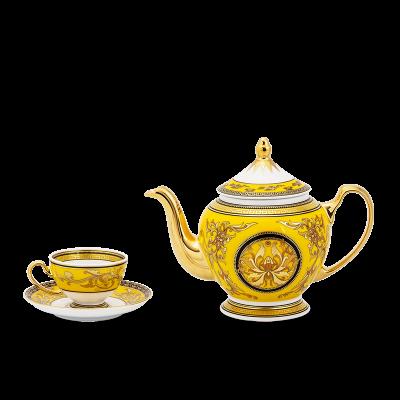 Bộ trà 0.8 L - Hoàng Cung - Thiên Hương Vàng