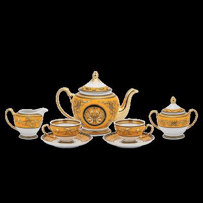 Bộ trà 1.3 L - Hoàng Cung - Hoàng Bào (sen)