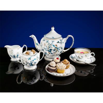 Bộ trà 1.3 L - Hoàng Cung - Lạc Hồng Vàng