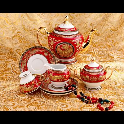 Bộ trà 1.3 L - Hoàng Cung - Quốc Sắc