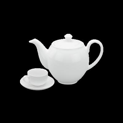 Bộ trà 1.1 L - Camellia - Trắng
