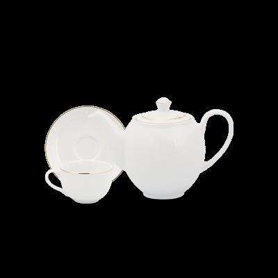 Bộ trà 0.5 L - Camellia - Chỉ Vàng
