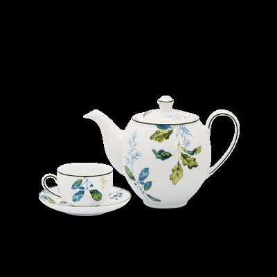 Bộ trà 1.1 L - Camellia - Lá Xanh