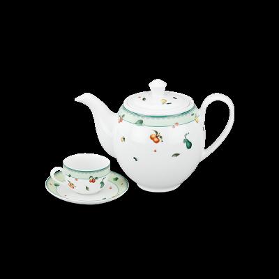 Bộ trà 1.1 L (Bộ 6 tách/dĩa) - Camellia - Quả Ngọt