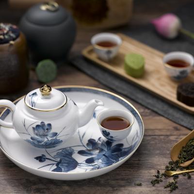 Bộ trà 0.35 L - Jasmine - Sen Vàng